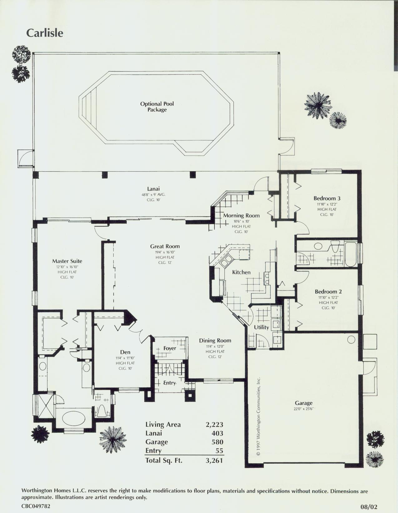 Florida style floor plans house plans home designs for Floor plans florida