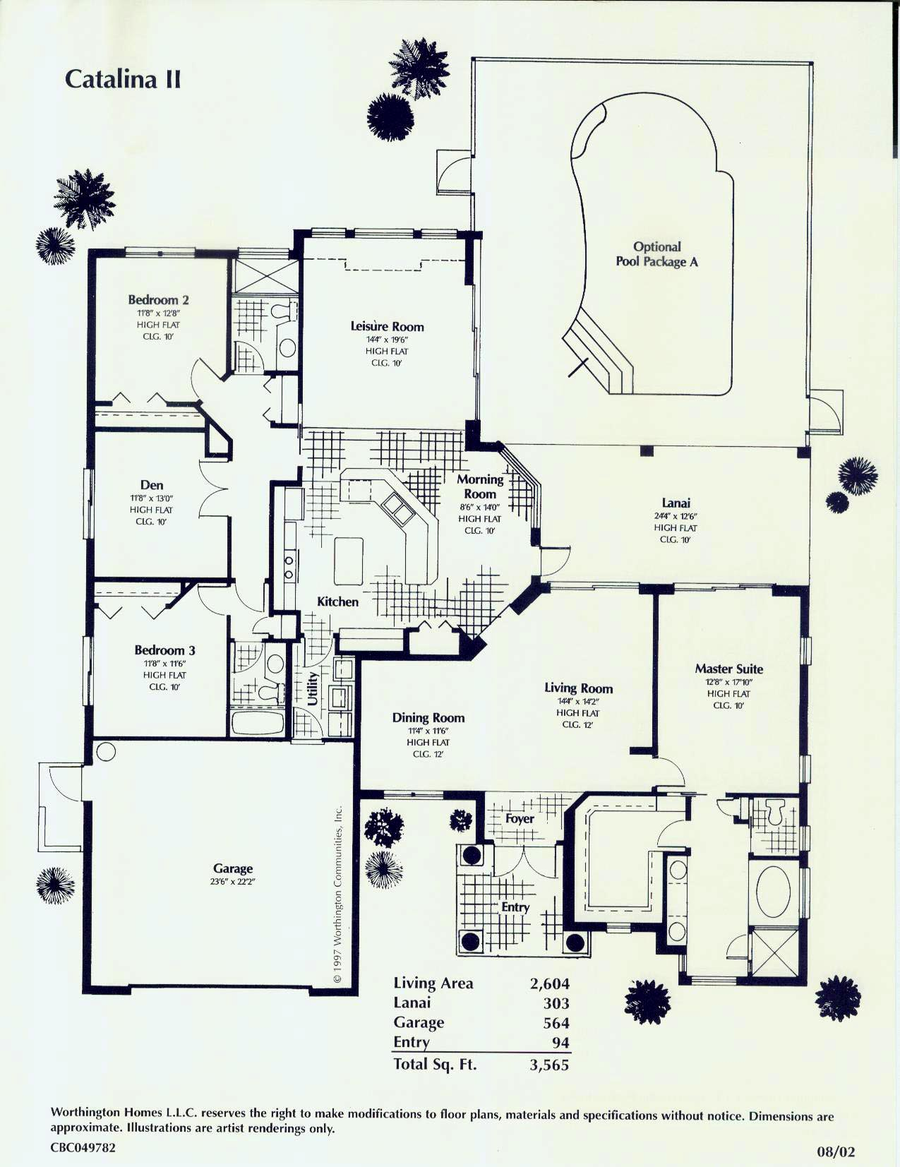 Florida custom home floor plans for Custom home plans florida