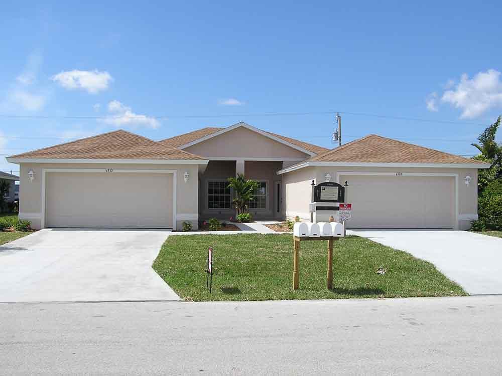 Southwest florida custom home builder worthington homes for Block home builders in florida