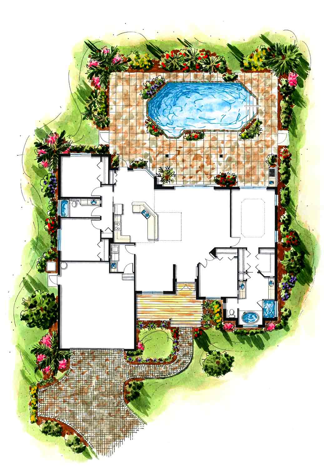 Southwest florida old florida style custom homes for Florida house builders